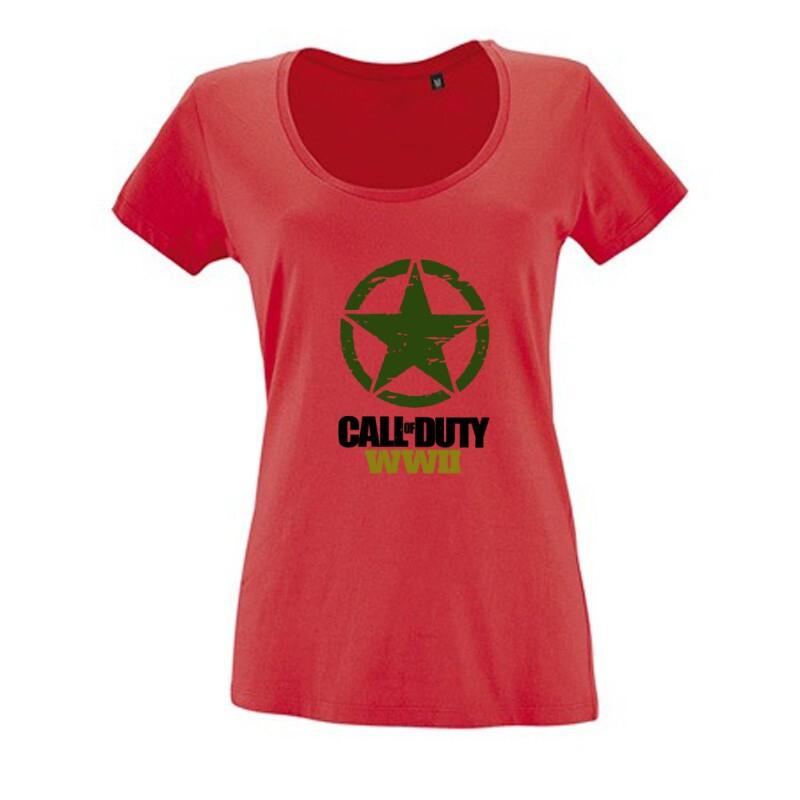 Call of Duty WWII Női O Nyakú Póló