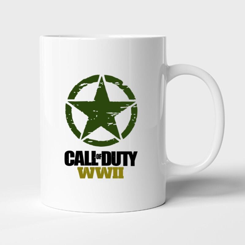 Call of Duty WWII Bögre