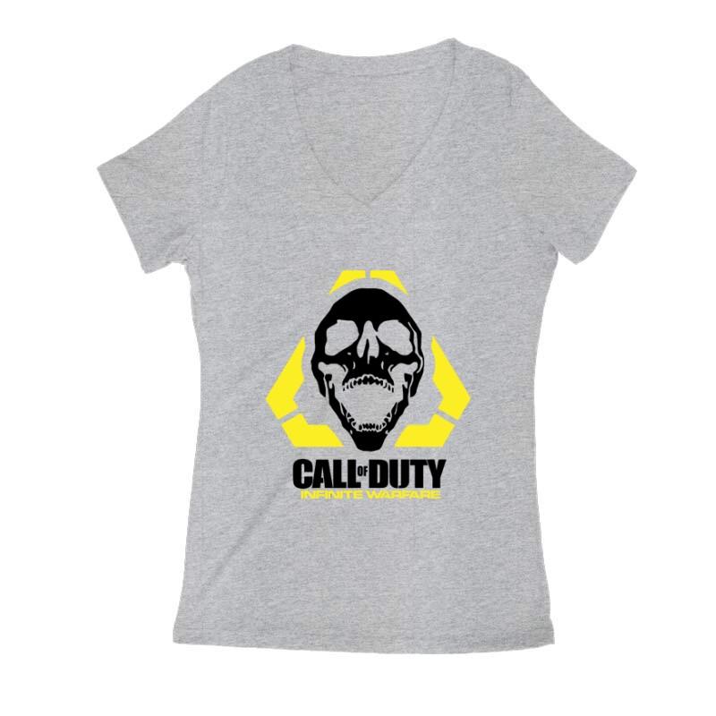 COD Infinite Warfare Női V Kivágott póló