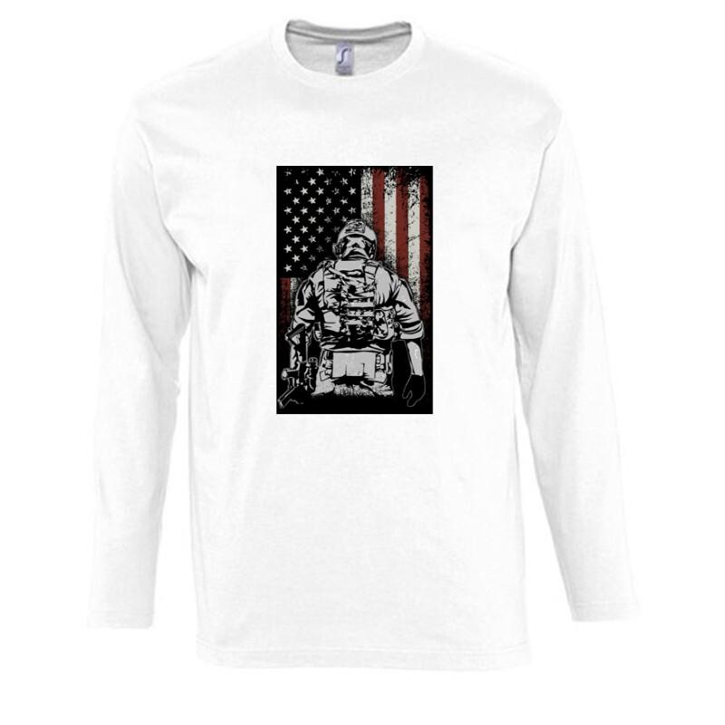 COD Patriot Hosszú Ujjú Póló