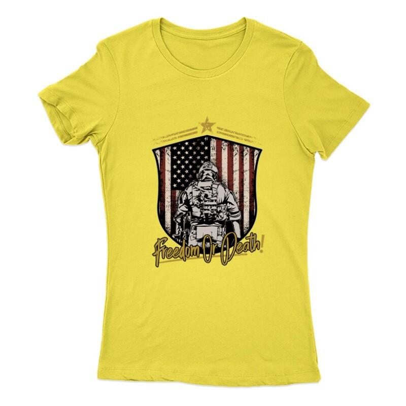Freedom or Death Női Póló