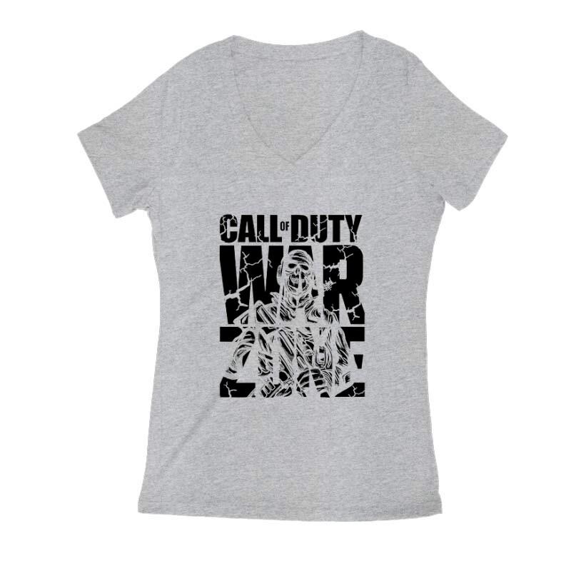 Call of duty Warzone Női V Kivágott póló