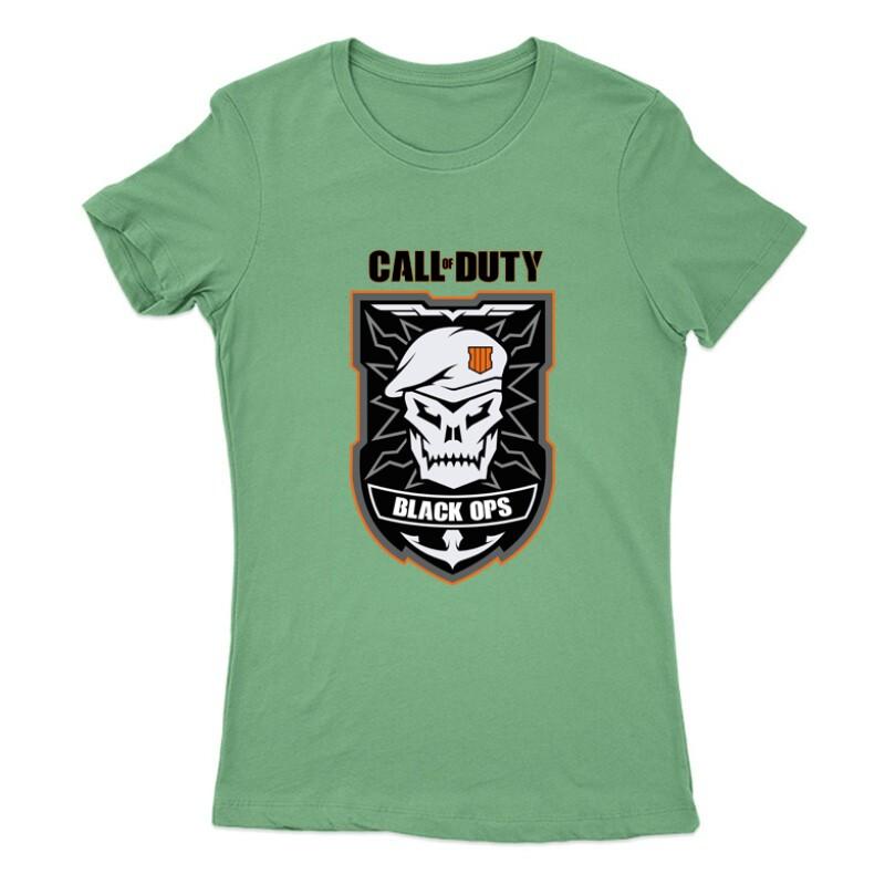 Black ops Skull Női Póló