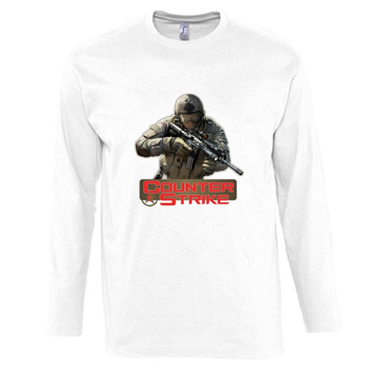 Counter Strike 2 Hosszú Ujjú Póló