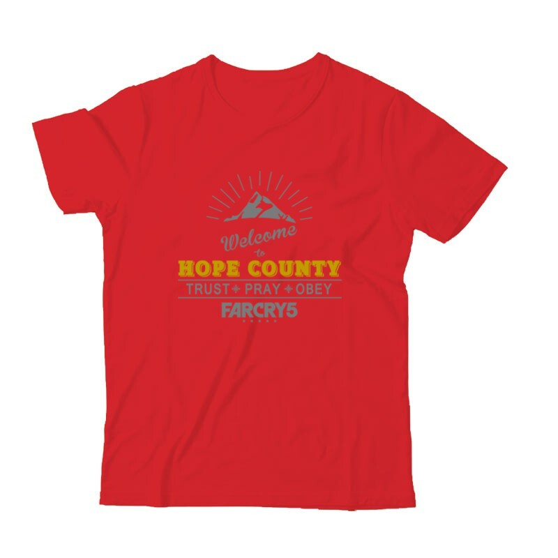 Welcome to Hope County Gyermek Póló