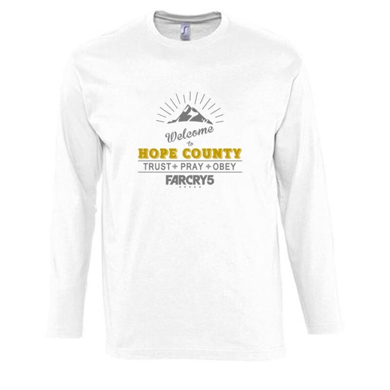 Welcome to Hope County Hosszú Ujjú Póló