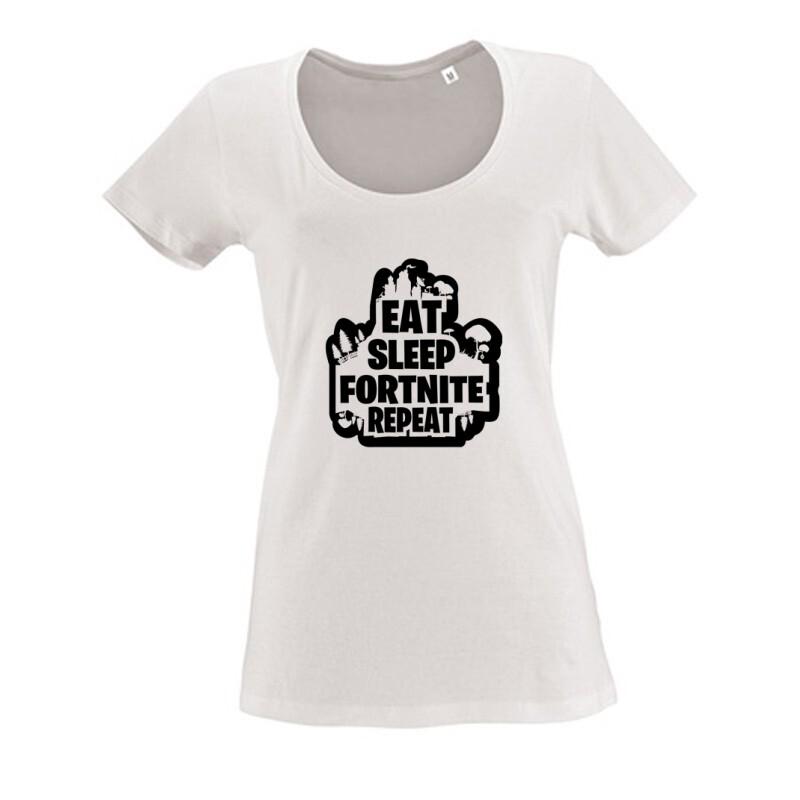 Fortnite 4 Női O Nyakú Póló