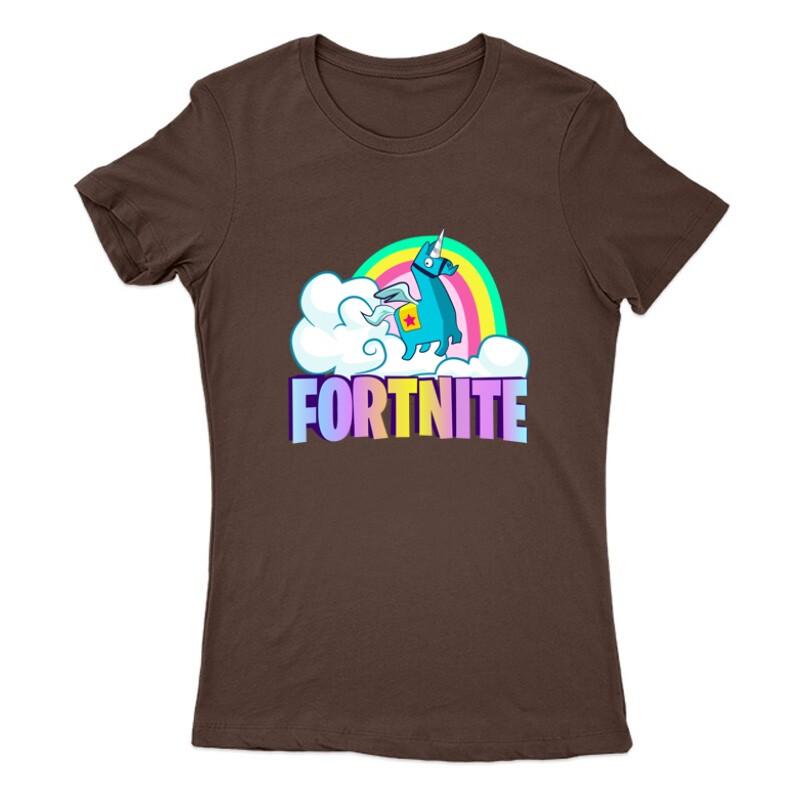 Lama Fortnite Női Póló