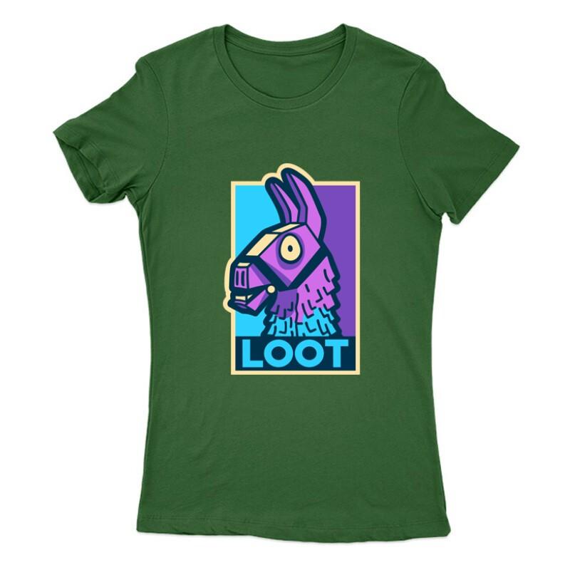 Loot Lama Női Póló