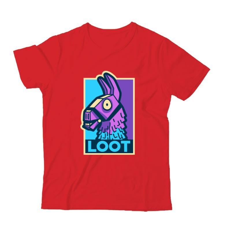 Loot Lama Gyermek Póló