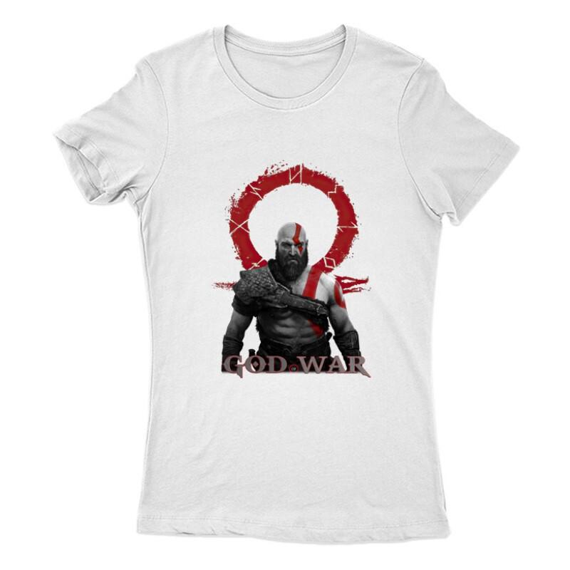 God of War Kratos Női Póló