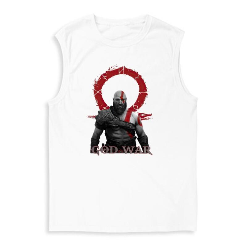 God of War Kratos Férfi Trikó