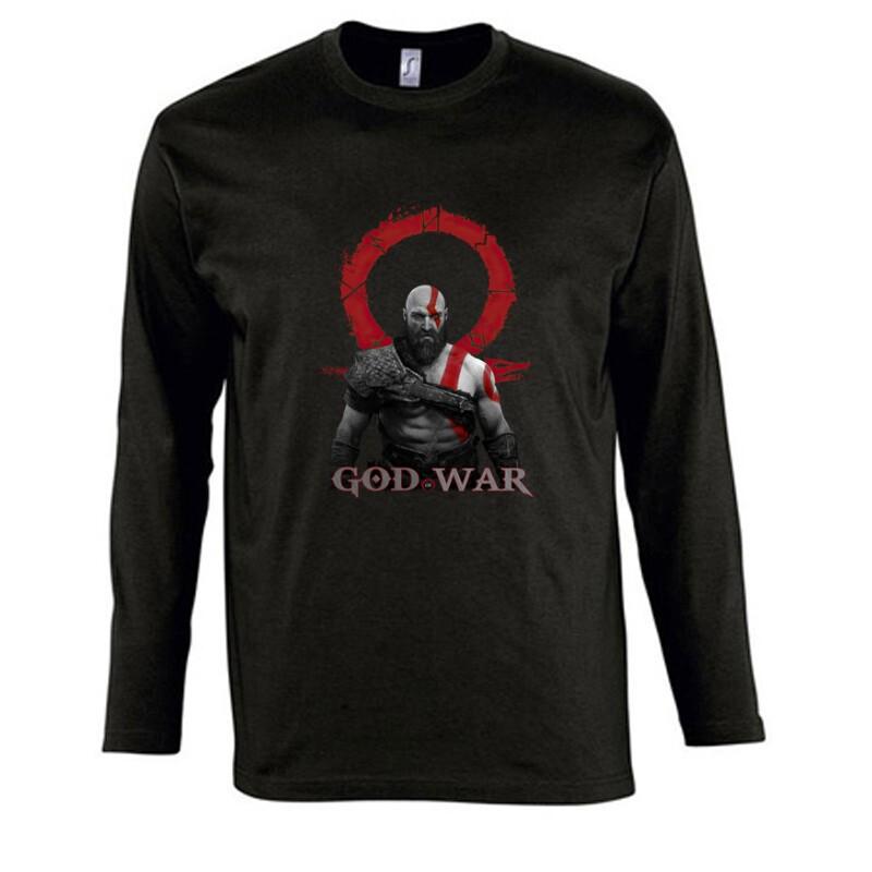 God of War Kratos Hosszú Ujjú Póló