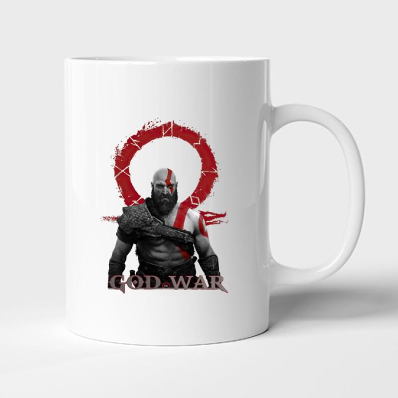 God of War Kratos Bögre