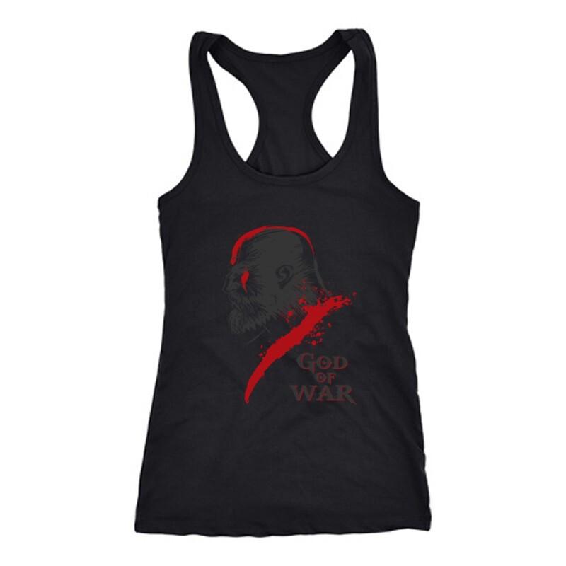 God of War Kratos 3 Női Trikó