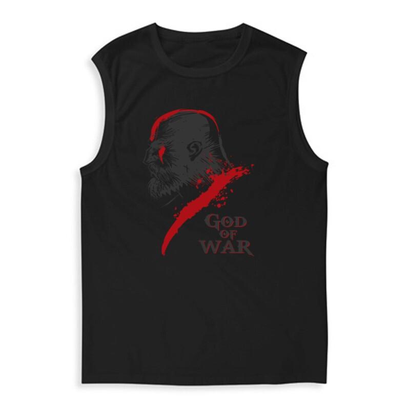 God of War Kratos 3 Férfi Trikó