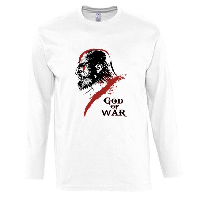 God of War Kratos 3 Hosszú Ujjú Póló