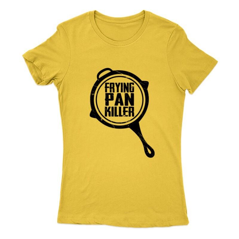 Frying pan killer Női Póló