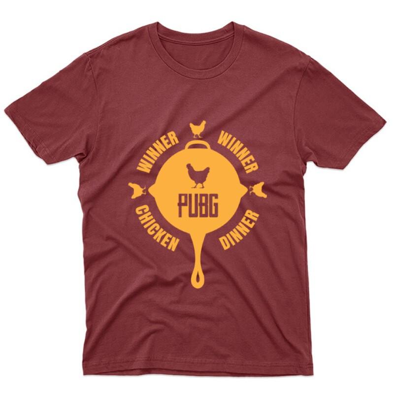 PUBG 5 Unisex Póló