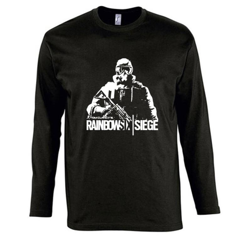 Rainbow Six Siege Soldier Hosszú Ujjú Póló