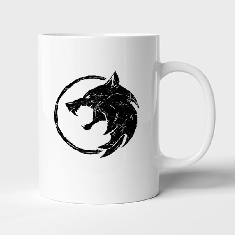 The Witcher Wolf Bögre