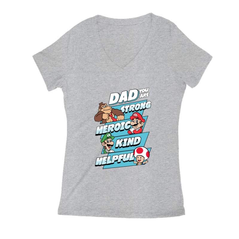 Dad You Are Női V Kivágott póló