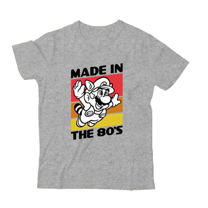 Made in the 80's Mario Gyermek Póló
