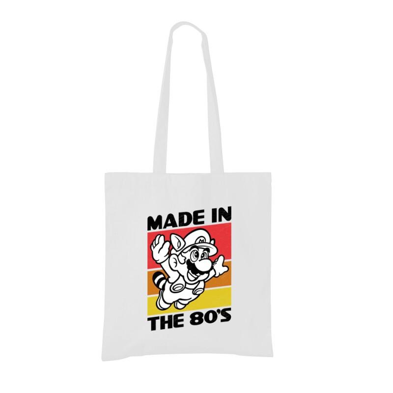 Made in the 80's Mario Bevásárló Táska
