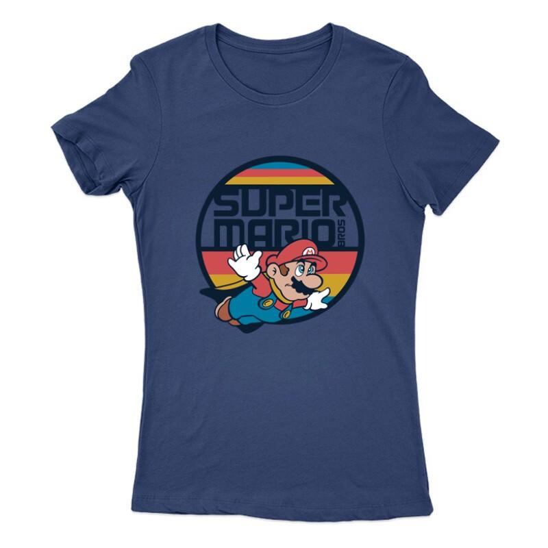 Mario old Női Póló