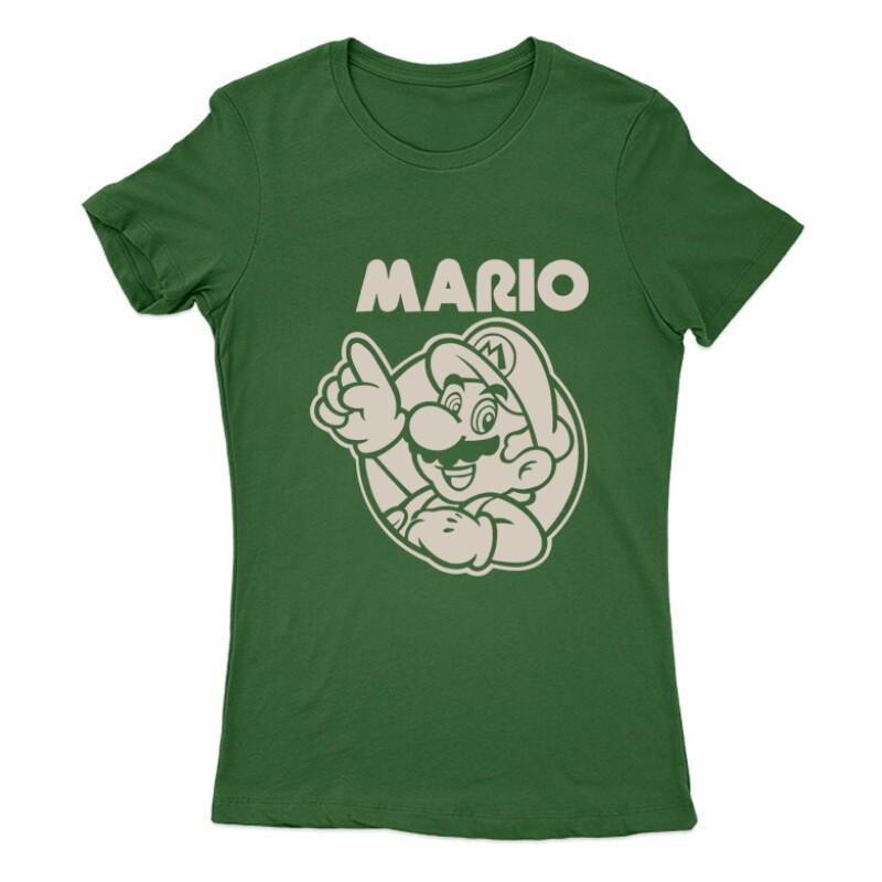 Mario old 2 Női Póló