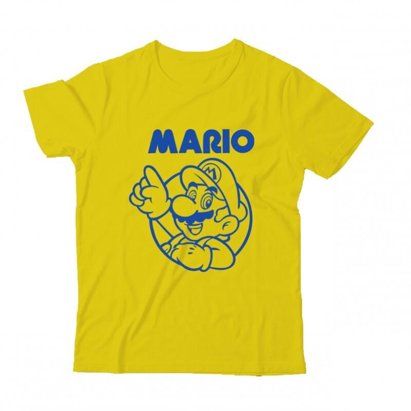 Mario old 2 Gyermek Póló