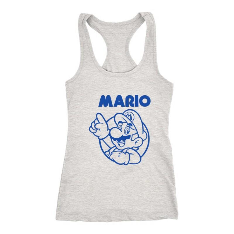 Mario old 2 Női Trikó