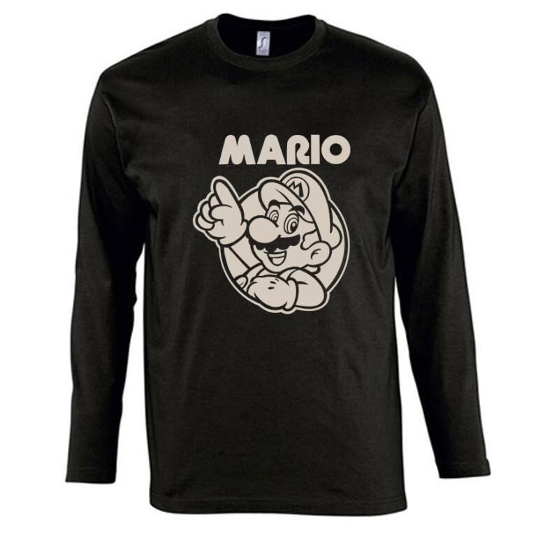 Mario old 2 Hosszú Ujjú Póló