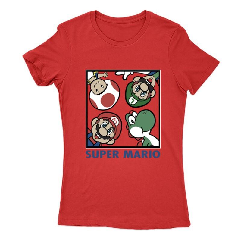 Supermario Női Póló