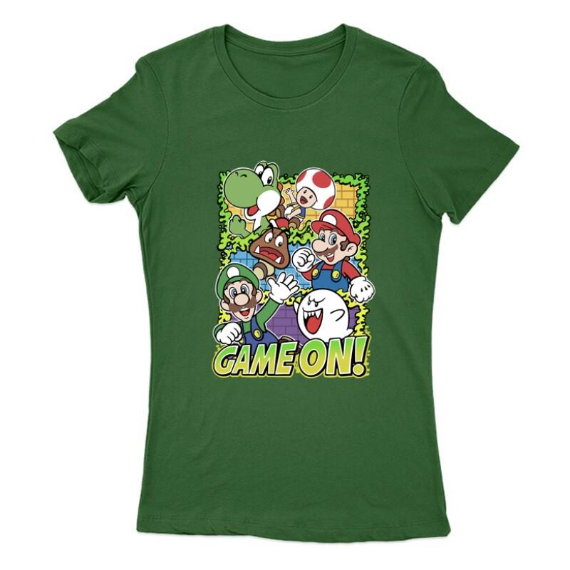 Game On Mario Női Póló