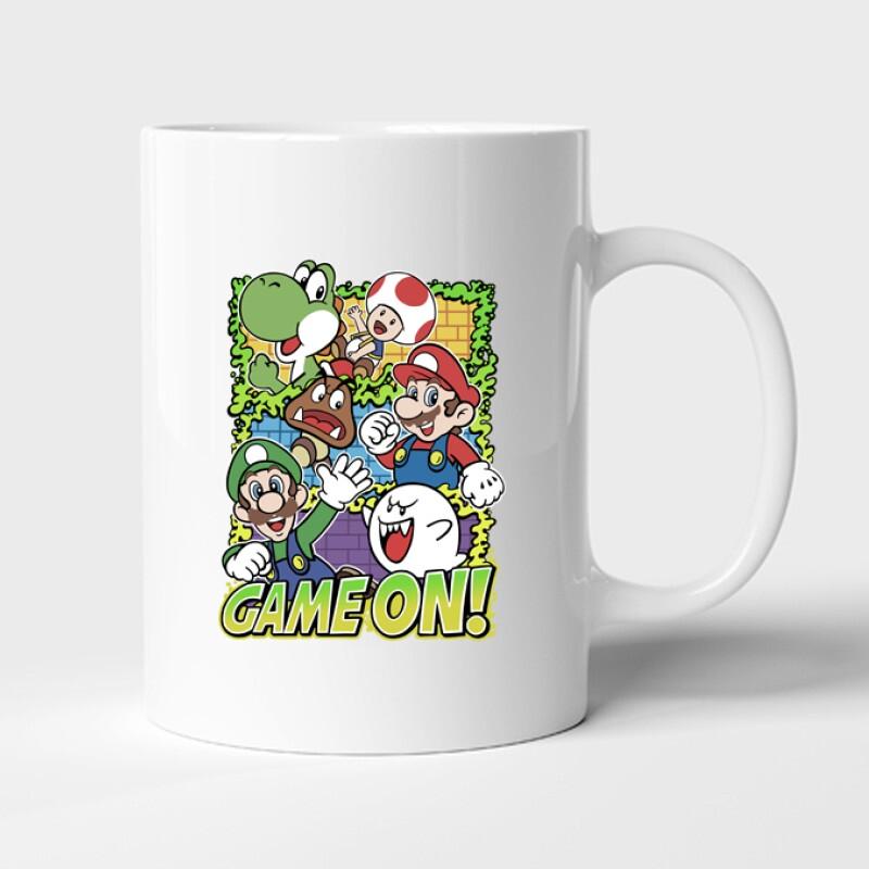 Game On Mario Bögre