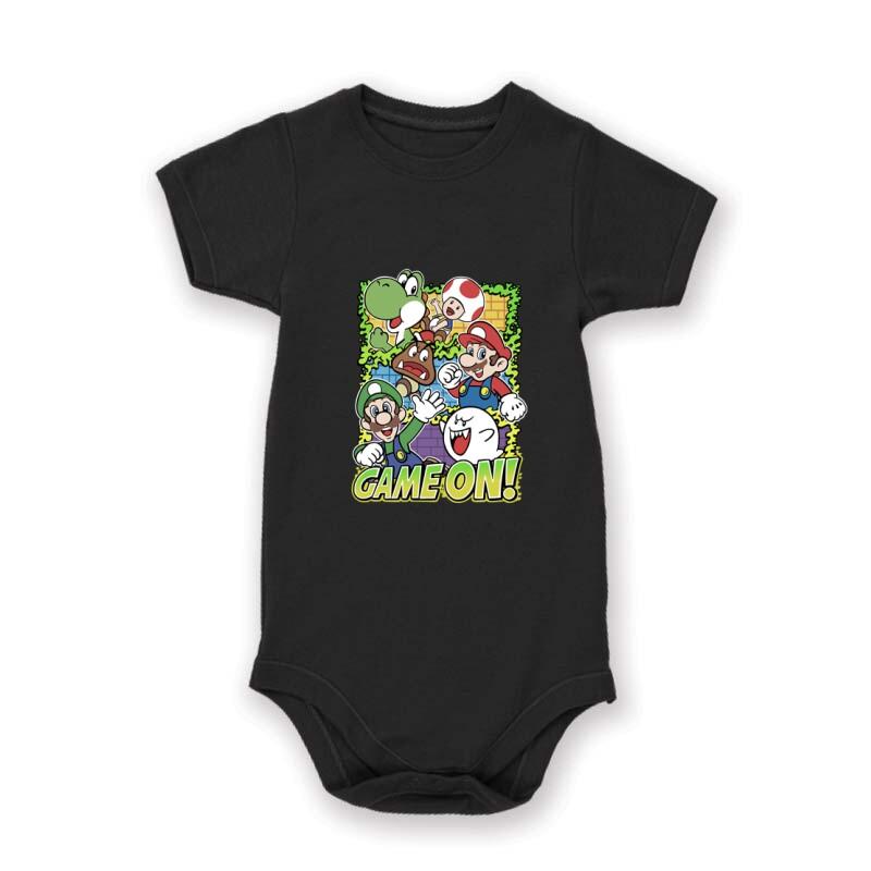 Game On Mario Baby Body