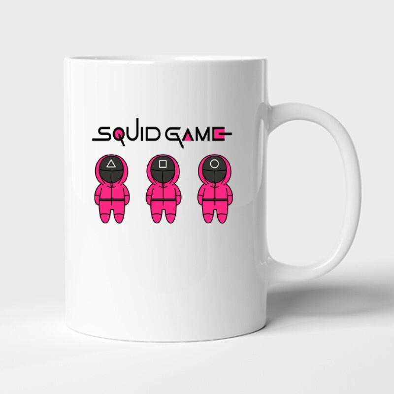 Squid game 3 soldiers Bögre