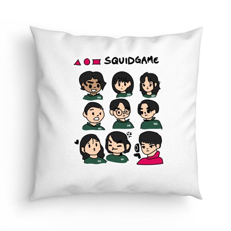 Squid game Players Párna