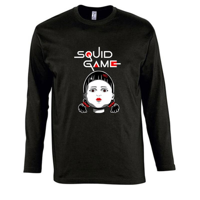 Squid game Doll Hosszú Ujjú Póló