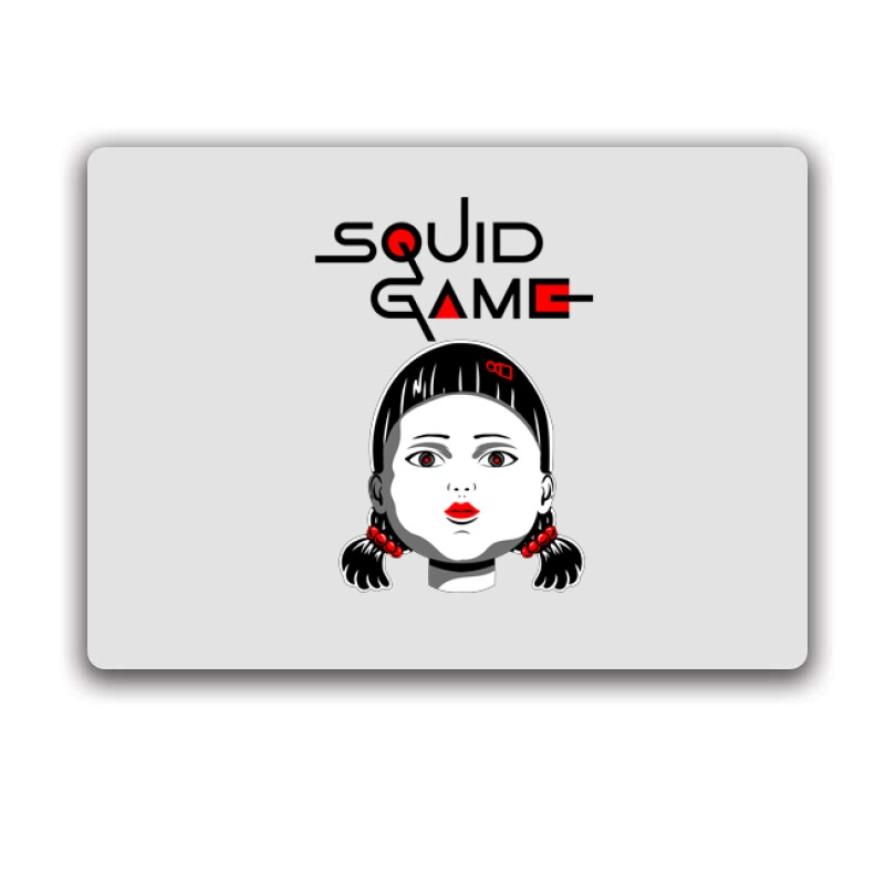 Squid game Doll Egérpad