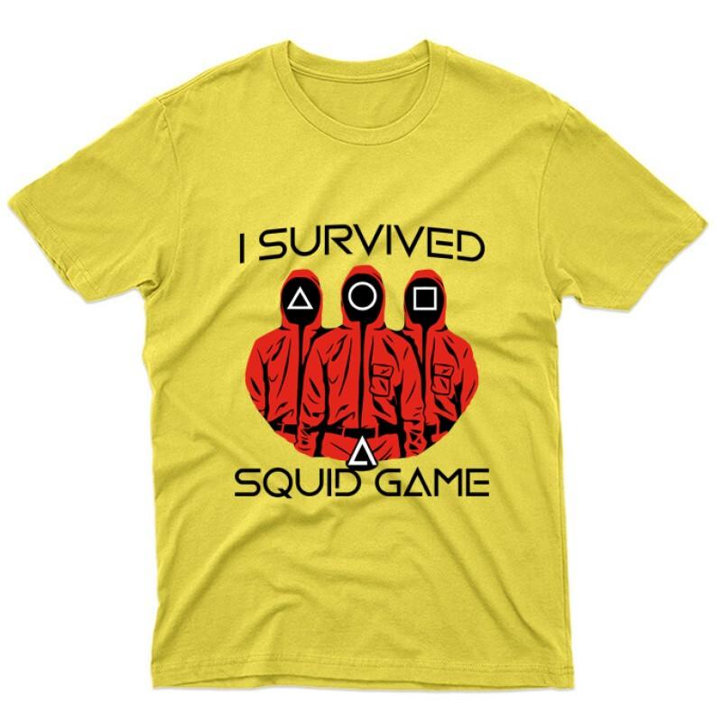 Squid game I Survived Unisex Póló