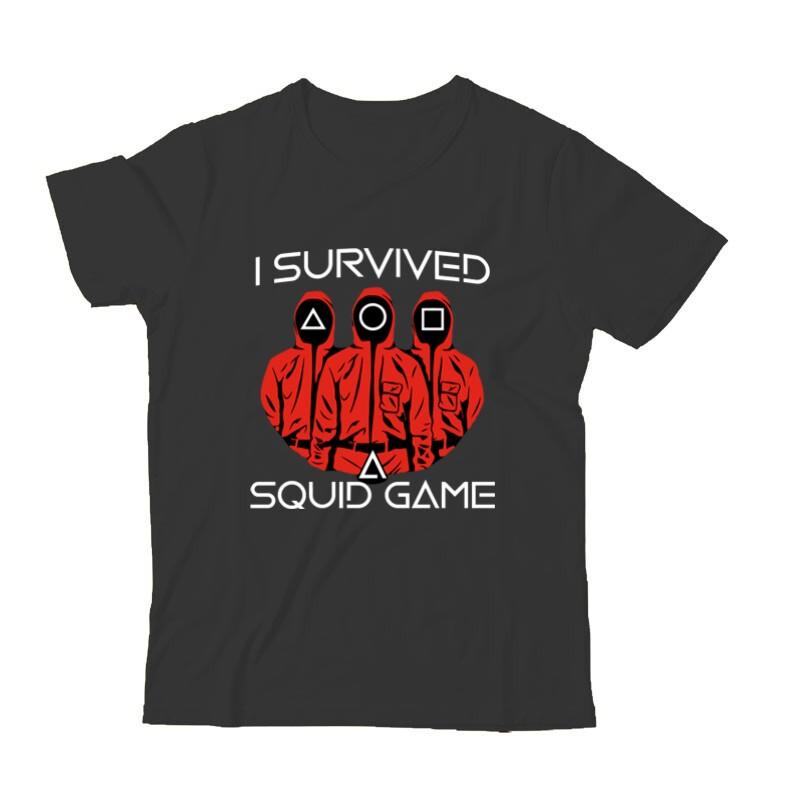 Squid game I Survived Gyermek Póló