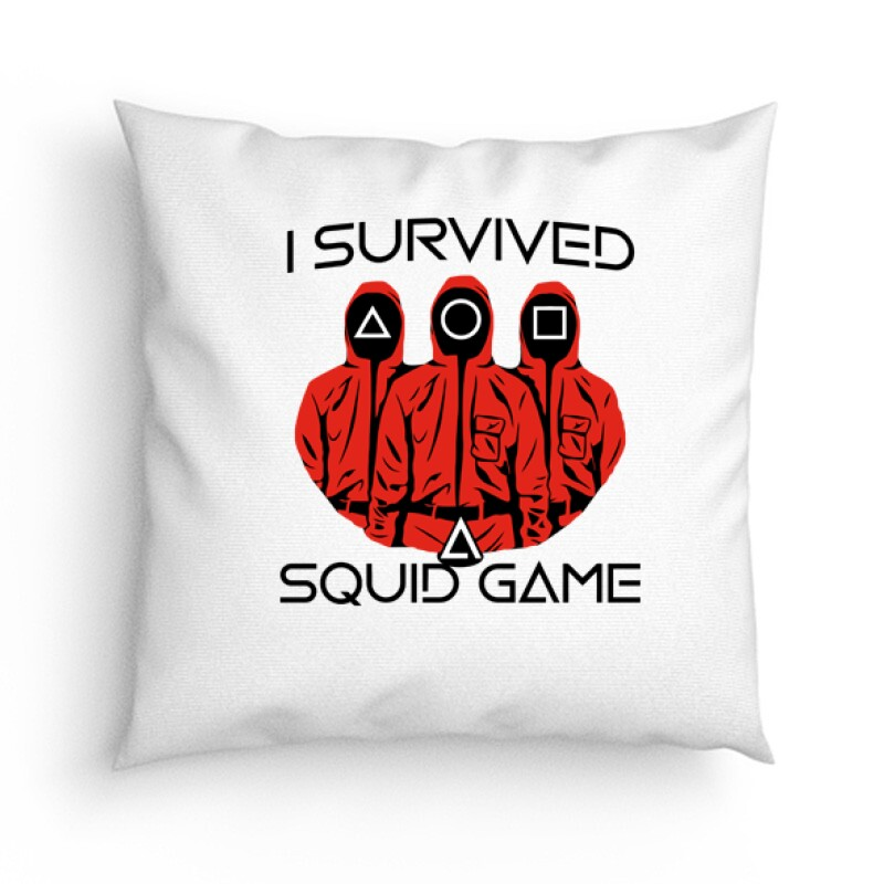 Squid game I Survived Párna