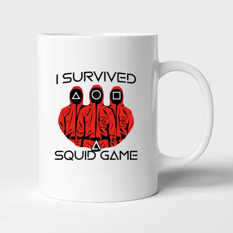 Squid game I Survived Bögre