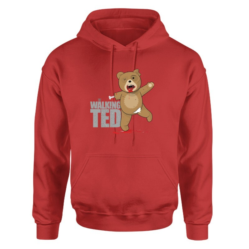 The Walking Ted Unisex pulóver