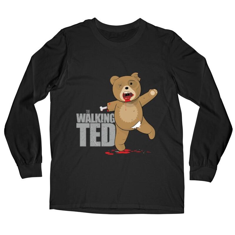 The Walking Ted Hosszú ujjú póló