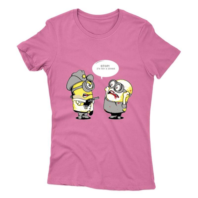 Not zombie minion Női póló