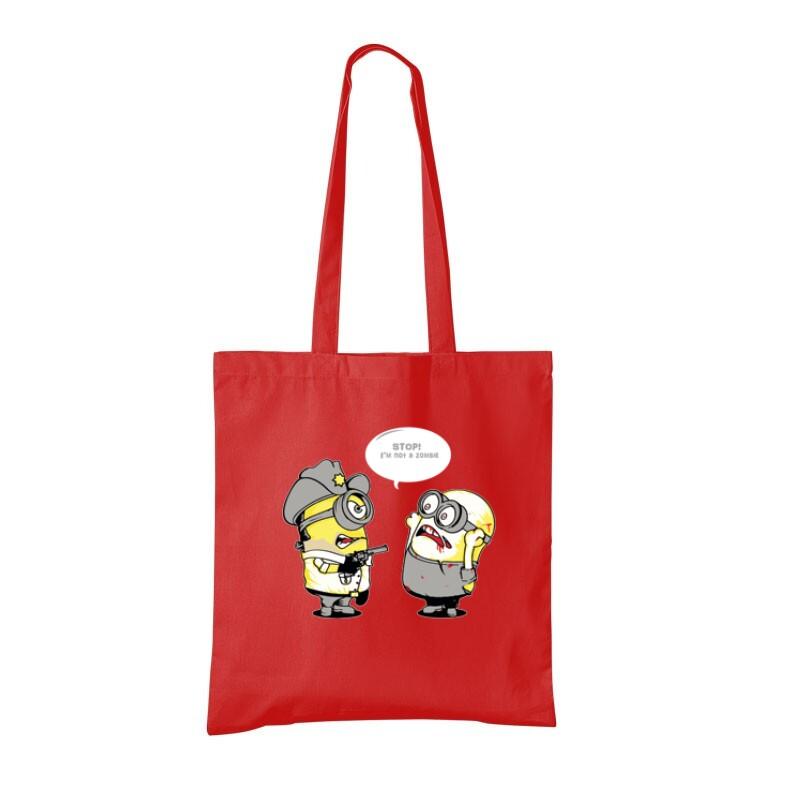 Not zombie minion Bevásárló táska