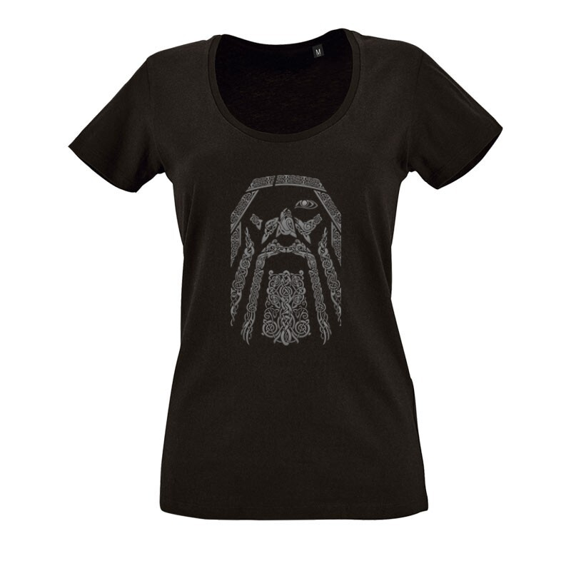 Odin O nyakú női póló